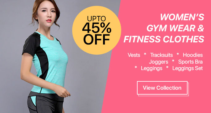 Buy Women's Gym Wear, Fitness Clothes Online.