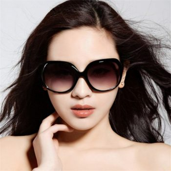 2018 New Mirror Goggle Explosion-proof Lens Large Frame Female Sunglasses Women Brand Vintage Sun Glasses Women oculos de sol
