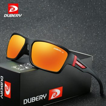 DUBERY Polarized Sunglasses Men's Driving Shades Male Sun Glasses For Men Safety 2017 Luxury Brand Designer Oculos 2071