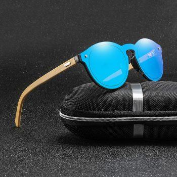 Retro bamboo wood sunglasses polarized luxury brand designer men's driving glasses sun glasses men woman ladies UV400