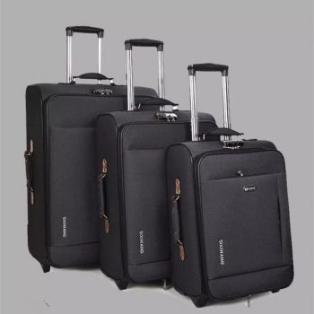 New business rolling luggage large capacity Oxford travel suitcase trolley box men women boarding luggage bag 20