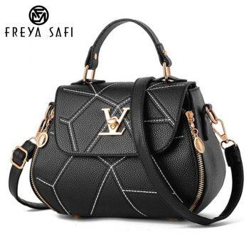 Flap V Brand Womens Bag Luxury Leathe Handbags Shell thread Ladies Clutch Designer Bag Sac A Main Femme Bolsas Women'sTote Purse