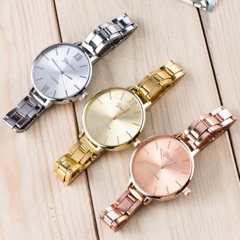 Woman Mens Retro Design Alloy Band Analog Alloy Quartz Wrist Watch montre homme luxury watches men stainless steel