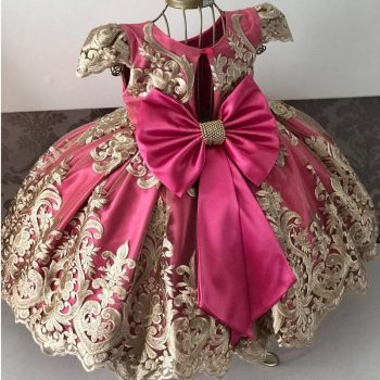 Girls Dress New Year Elegant Princess Dress Kids Dresses For Girl Costume Children Wedding Party Dress 4-10Yrs Vestido Infantil