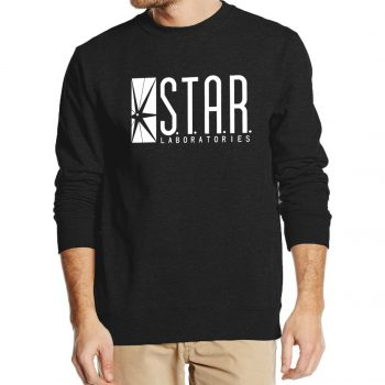 Superman Series Men Sweatshirt STAR S.T.A.R.labs autumn winter  2019 new fashion hoodies cool streetwear tracksuit high quality
