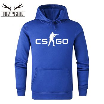2018 Autumn Winter Fashion CS GO Hoodies Men Game Print Sweatshirts CSGO Hoodie Homme Pullover Brand Hombre Cotton Clothing W15