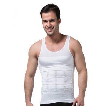 Men's Slimming Body Shapewear Corset Vest Shirt Compression Abdomen Tummy Belly Control Slim Waist Cincher Underwear