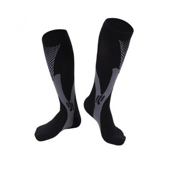 Men Women Leg Support Stretch Compression Socks Below Knee Socks Men Winter Mens Wool High Quality Socks