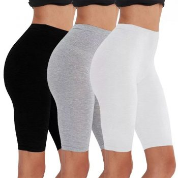 2pcs/3pcs pack Eco-friendly viscose spandex bike shorts for woman  fitness active wear very soft comfortable  M30181