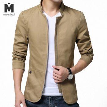 Marstaci Mens Jackets Fashion Mens Cotton Slim Windbreaker Jackets Coats Man Anorak Streetwear Hip Hop Bomber Jackets 5XL