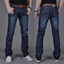 Hot Selling Men Jeans Casual Straight Slim Jeans Youth Fashion Men's Long Pants