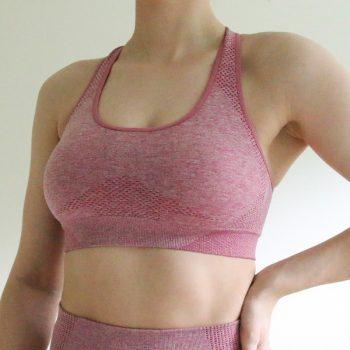 Nepoagym Women Vital Seamless Sport Bra Push Up Sports Bra Workout Bra Sports Wear for Women Gym