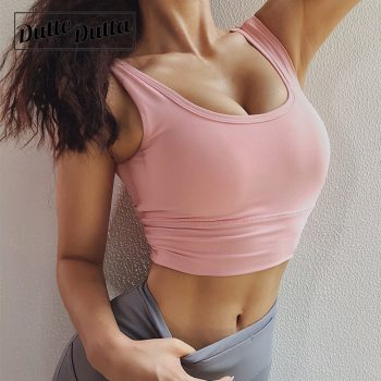 Woman Backless Fitness Bras Top Academia Sports Bra Active Wear For Sport Bh Female Yoga Crop Tops Women Gym Brassiere Women's