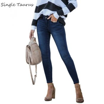 Skinny Vintage Jean Streetwear Pitillos De Mujer Washed Distressed Moustache Effect Pontalon Jeans Femme Botas Feminina Jeans