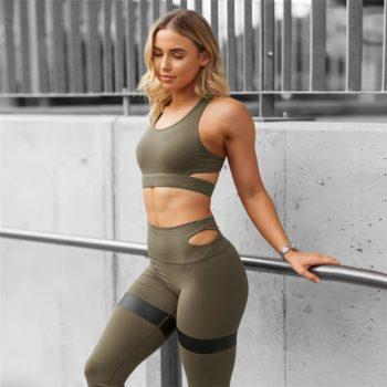 Women Yoga Set Women Sport Suit Gym Set Gym Clothing Sportswear fitness Wear Fitness Suit Yoga Clothes Tracksuit