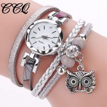 Women Girls Clock Analog Quartz Pendant Owl Ladies Dress Bracelet Watches Relogio Feminino Casual Bayan Kol Saati Hot sale #5/22