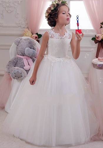 Girls Evening Party Dress 2019 Summer Kids Dresses For Girls Children Costume Elegant Princess Dress Flower Girls Wedding Dress
