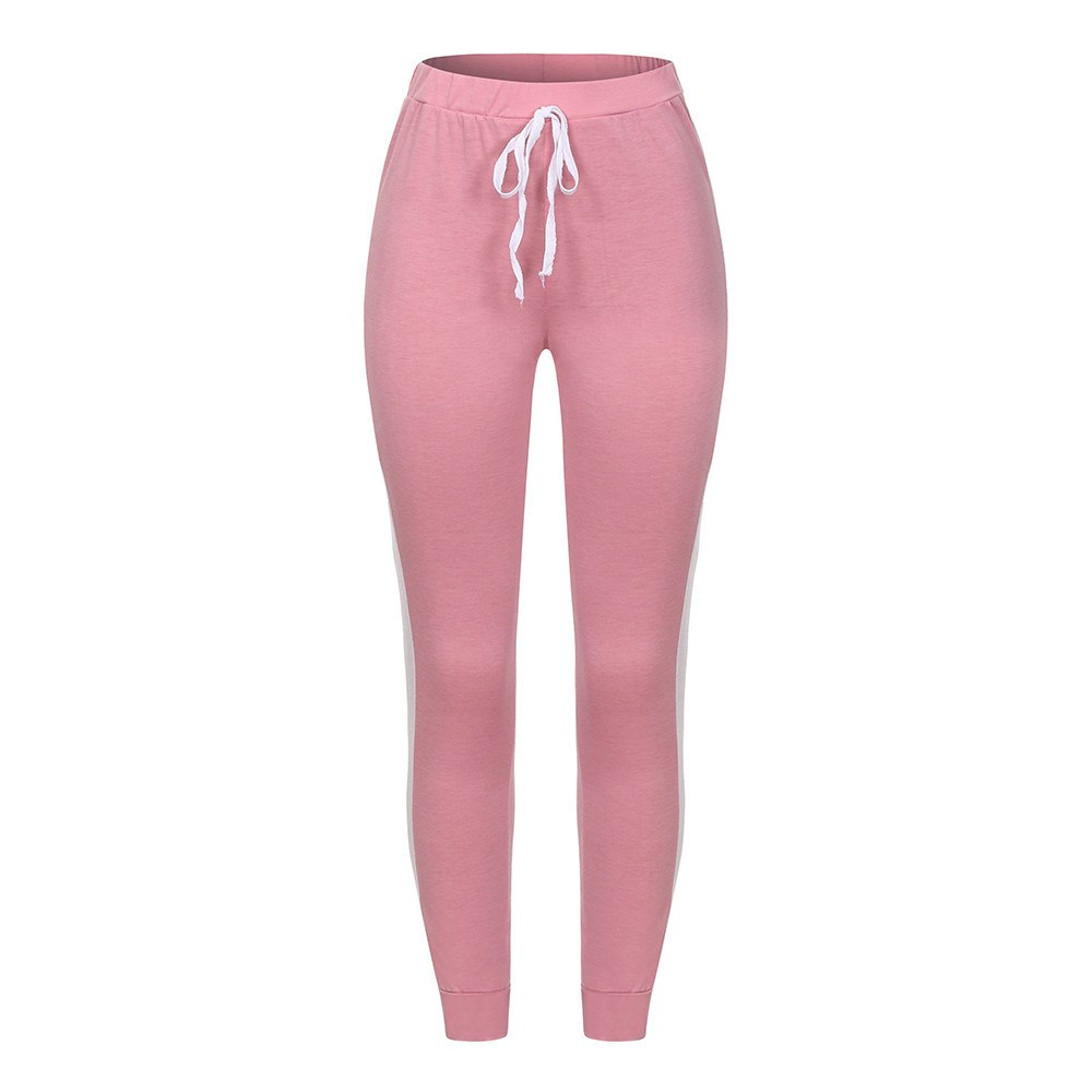 Sports Pants Women Yoga Workout Gym Fitness Leggings Pants Athletic Clothes Sport Trousers Fit All seasons #2o26#F
