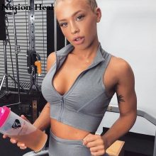 2018 Women Gym White Yoga Crop Tops Yoga Shirts Sleeveless T Shirt Solid Gym Running Tops Slim Workout Fitness Yoga Shirt Tops