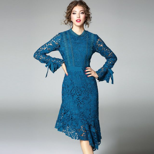 Long sleeve dress 2018 NEW spring autumn winter Womens Clothing Novelty Slim party Dress Office work sexy Asymmetrical dresses