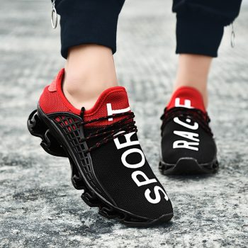 ARUONET Classic Plus Size Men's Shoes Damping Sneakers Lace Up Man Footwear Hard-Wearing Men Casual Shoes spadrille pour homme