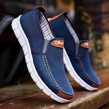 men shoes canvas casual hombre footwear summer men shoes A6