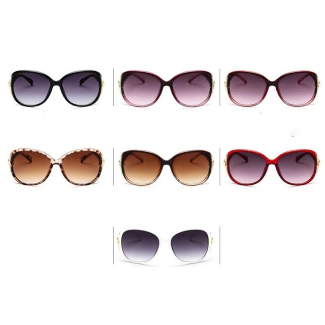 DIGUYAO 2019 New Oval Frame Sunglasses Women Elegant Goggles Fashion Sun Glasses Female Shades Eyewear Fox decoration
