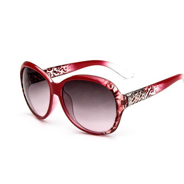 ZBHwish Brand Designer Sunglasses Women  Fashion Decorative Large Frame Sun Glasses Europe and  United States Retro Sunglasses