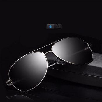 Large Frame Metal Polarized Sunglasses Men/Women Classic Sun Glasses Shading Sunglasses Myopia Hyperopia