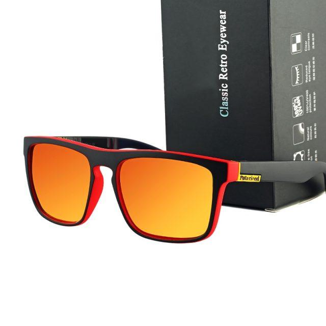 2019 new square polarized men's sunglasses classic luxury brand design fashion ladies sunglasses UV400 sports driving glasses