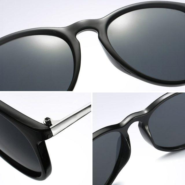 SIMPRECT 2019 Retro Sunglasses Men Polarized UV400 High Quality Driving Round Sun Glasses Brand Vintage Lunette De Soleil Homme