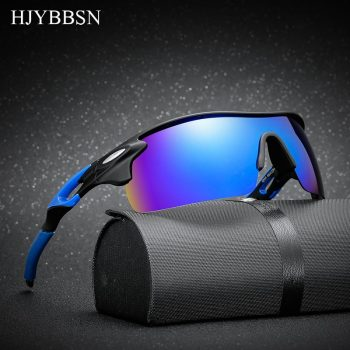 HJYBBSN 2018 Sport Polarized Sunglasses sun glasses Goggles UV400 sunglasses for men women Fishing retro De Sol Masculino