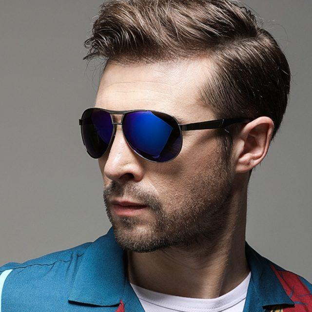 ZXRCYYL NEW Fashion Polarized Sunglasses Men Women Brand Designer  Men Classic Pilot Driving Sun glasses UV400