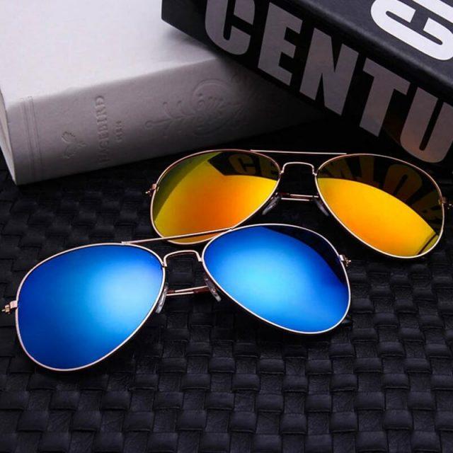 Classic Aviation Sunglasses Men Sunglasses Women Driving Mirror Male and Female Sun glasses Points Pilot Oculos de sol