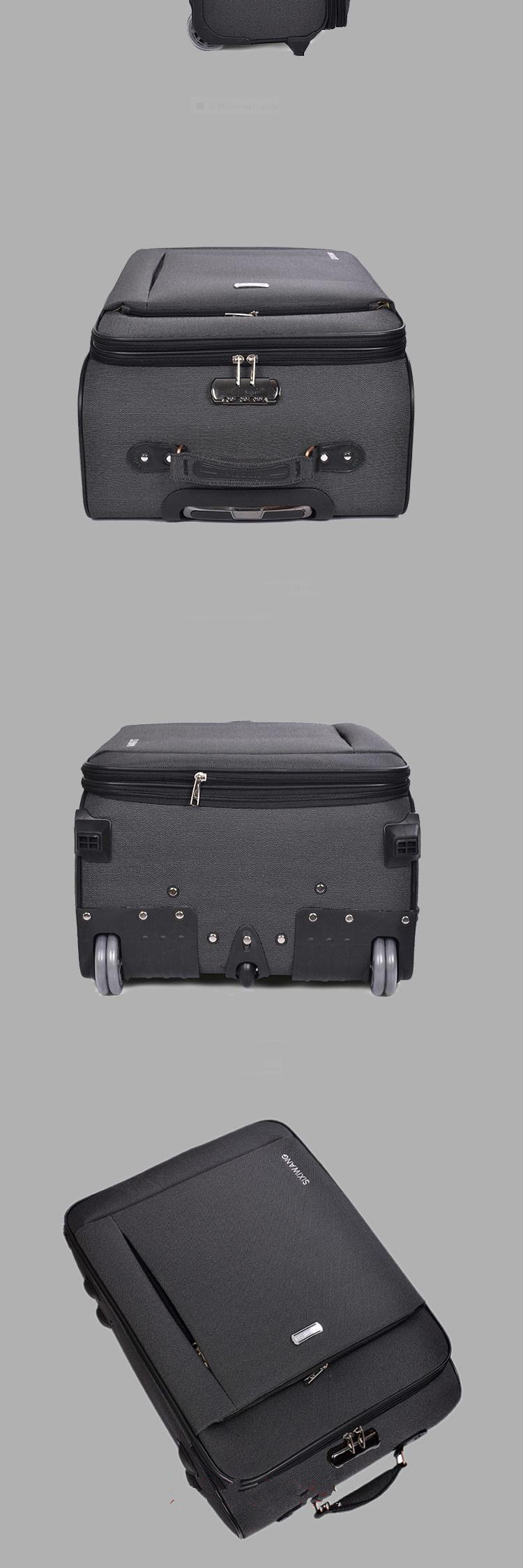 New students Travel Luggage Oxford suitcase Men high quality Rolling luggage On Wheels Women brand Trolley Suitcase travel bag