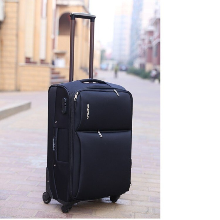 High quality waterproof trolley case,Universal wheel suitcase, Large capacity anti-drop password luggage,20 inch boarding box