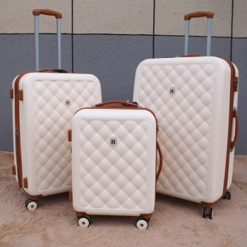 Export to the United Kingdom ABS Rolling Luggage Wheel Trolley Travel Suitcase Luxury Brand Boarding Bag Trunk