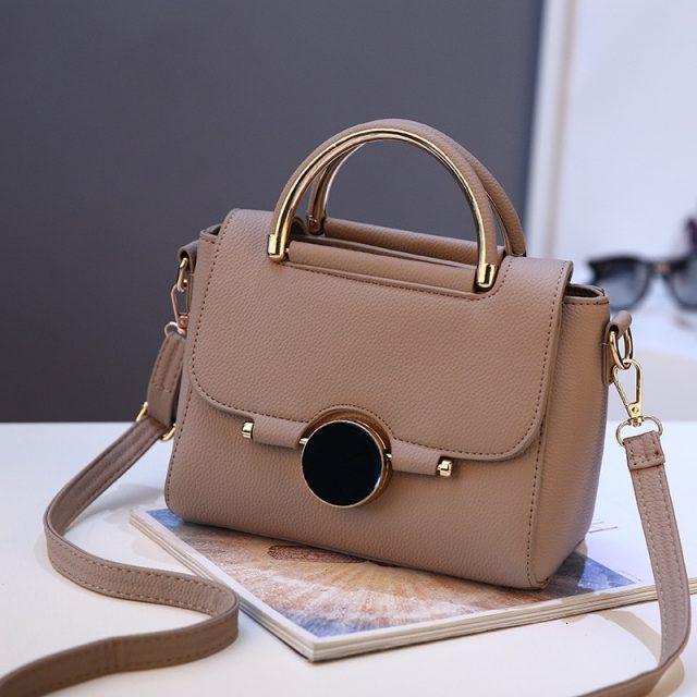 BERAGHINI Women Bags Brand Female Handbag Crossbody Bags Fashion Mini Shoulder Bag for Teenager Girls with Sequined Lock Gifts