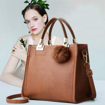 ETONTECK New High Quality PU Leather Women Handbags Fashion Tote Bag Female Shoulder Bag Ladies Luxury Messenger Bag Sac a Main