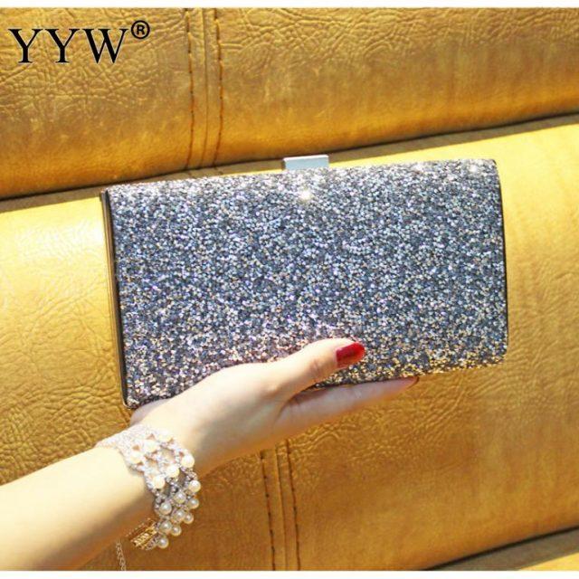 Rhinestone Clutch Bag Women Luxury Gillter Evening Party Purse Box Bag Diamond Female Clutch Crystal Day Wallet Wedding Purse