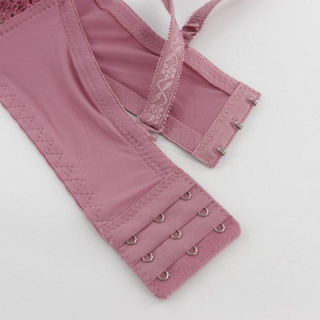 Beauwear Big Size Lace Bralette Padded Push Up Bra Lingerie Plus Size Sexy Brassiere Underwear Padded B C Bh Plus Bras for Women