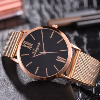 Duobla Fashion Big Brand Women Stainless Steel Strap Quartz Wrist Watch Luxury Simple Style Designed Watches Women's Clock 40Q