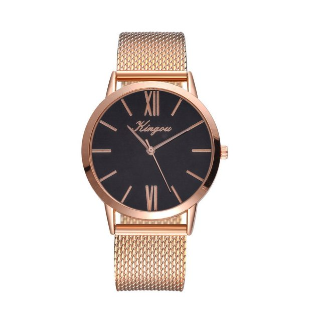 Duobla Fashion Big Brand Women Stainless Steel Strap Quartz Wrist Watch Luxury Simple Style Designed Watches Women's Clock 40Q