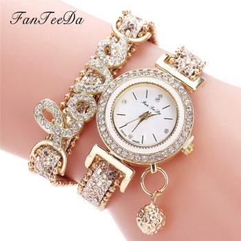 High Quality Beautiful Fashion Women Bracelet Watch Ladies Watch Casual Round Analog Quartz Wrist Bracelet Watch For Women A40