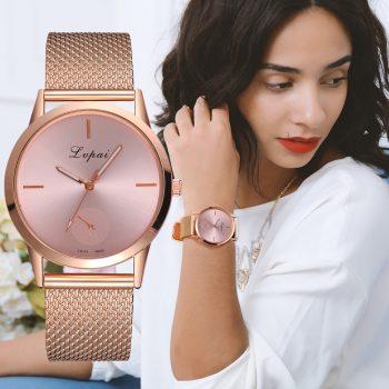 Lvpai Women's Casual Quartz Silicone strap Band Watch Analog Wrist Watch Women Clock reloj mujer women's watches