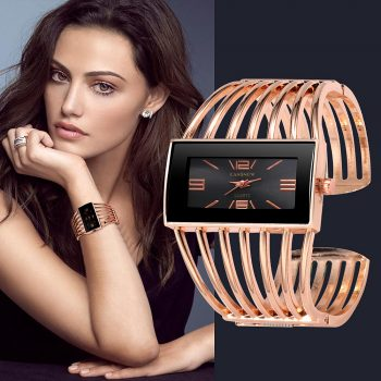 reloj mujer 2019 New Luxury Women's Watches Bangle Bracelet Womens Quartz Wrist watch Rose Gold Ladies Watch zegarek damski