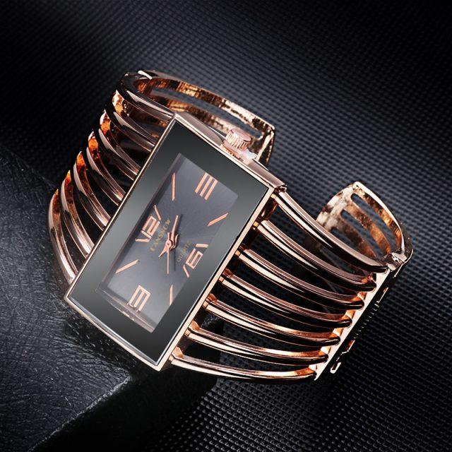 reloj mujer 2019 New Luxury Women's Watches Bangle Bracelet Womens Quartz Wrist watch Rose Gold Ladies Watch zegarek damski
