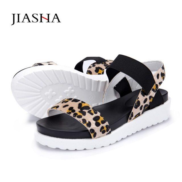 Sandals shoes 2018 new peep-toe sandals women shoes summer roman ladies flip flops footwear women sandals
