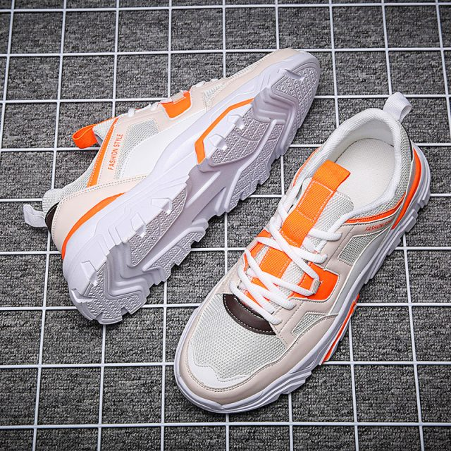 Fashion Sneakers Men High Quality  Man Casual Shoes High Top Male Brand   Footwear Men's Casual Shoes Fashion Sneakers For Man