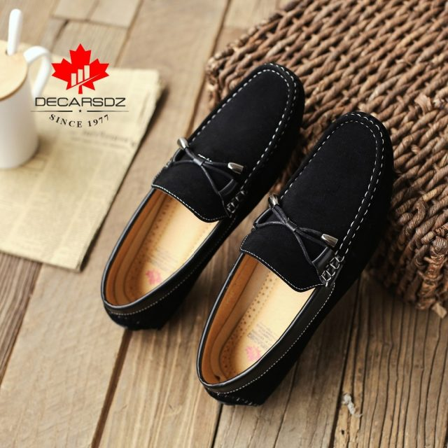Loafers Shoes 2019 New Fashion Driving Shoes Chaussures Hommes Brand Men's Loafers Footwear Autumn Comfort Leisure Men's Shoes